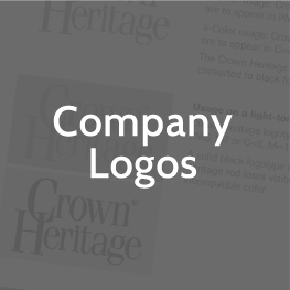 crown heritage company logos