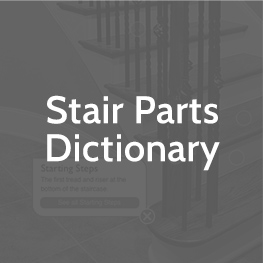 stairs parts dictionary