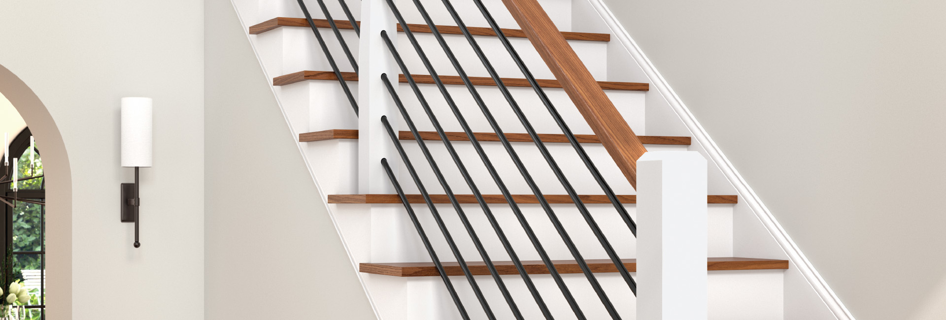 stair newels and balusters